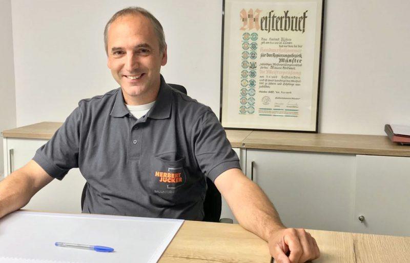 Bautenschutz staubfrei umbauen_stahltraeger Herbert Juecker