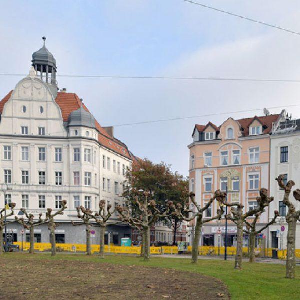 Sanierung am Borsigplatz