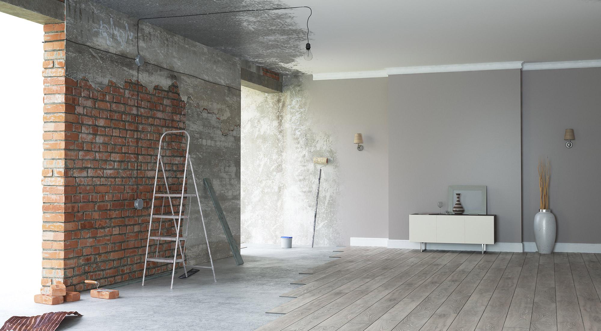 Stahltraeger einbauen Wanddurchbruch